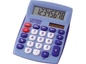 Αριθμομηχανή  Citizen SDC-450NBL μπλέ ( 8 Ψηφίων)