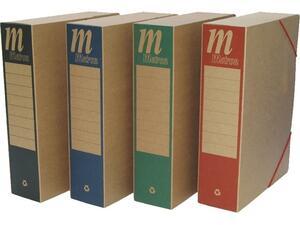 Κουτί αρχειοθέτησης Metron οικολογικό με λάστιχο 25x33x8 cm σε διάφορα χρώματα