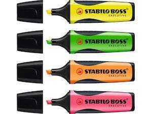 Μαρκαδόρος υπογράμμισης STABILO Boss Executive σε διάφορα χρώματα