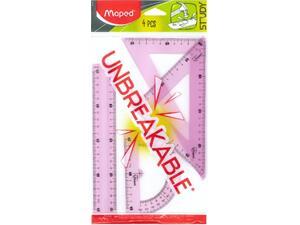 Σετ γεωμετρικά σχήματα MAPED Unbreakable 20cm