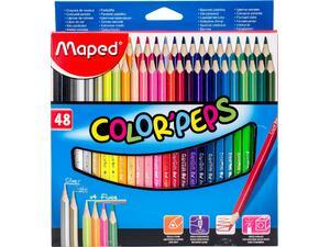 Ξυλομπογιές MAPED Color' Peps πακέτο 48 τεμαχίων