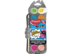 Νερομπογιές MAPED Color'Peps σετ 12 χρωμάτων