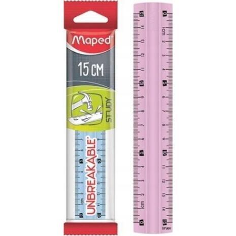 Χάρακας MAPED Study άθραυστος 15cm