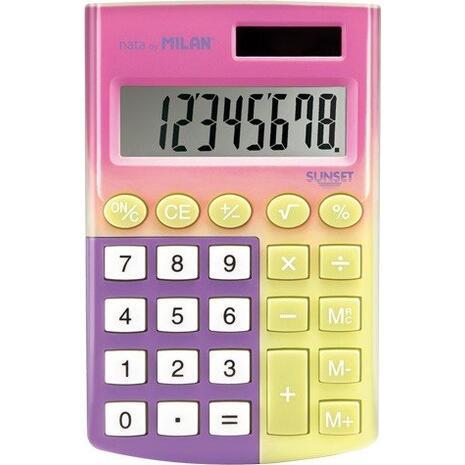 Αριθμομηχανή MILAN Pocket (8 Ψηφίων)
