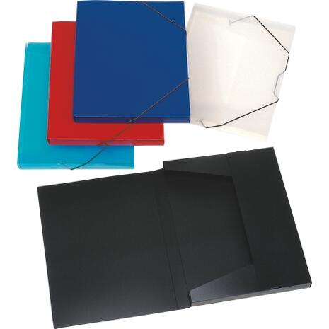 Κουτί Αρχειοθετήσης με Λάστιχο 25x33x3cm μαύρο