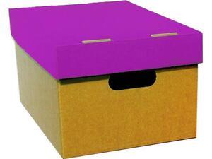 Κουτί Α3 απο χαρτόνι με καπάκι 21x32x44cm σε διάφορα χρώματα