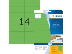 Ετικέτες HERMA  αυτοκόλλητες 105x42.3cm πράσινες Νο5061