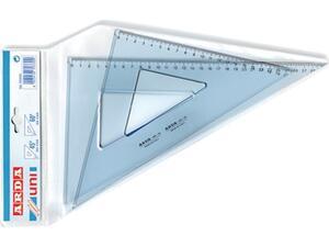 Τρίγωνα Arda 45o + 60o 35cm (σετ 2 τεμαχίων)