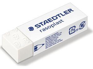 Γόμα STAEDTLER Rasoplast άσπρη 65x23x13mm
