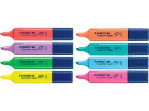 Μαρκαδόρος υπογράμμισης STAEDLER 364 σε διαφόρα χρώματα
