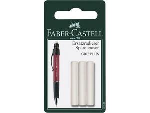 Γόμες Μηχανικού Μολυβιού FABER Castell Grip Plus 131598 (συσκευασία 3 τεμαχίων)