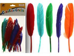 Φτερά Valoro Indian σε διάφορα χρώματα (συσκευασία 60 τεμαχίων)