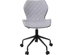 Καρέκλα Γραφείου DAVID PU [Ε-00020983] ΕΟ207,1 Μαύρο/ανοιχτό γκρί