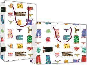 """Χάρτινη σακούλα δώρου """"Fashion"""" 24x23x10cm"""