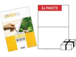 Ετικέτες αυτοκόλλητες SOREX 210X148
