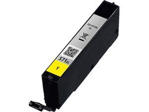 Μελάνι εκτυπωτή Συμβατό CANON CLI-571XL Yellow