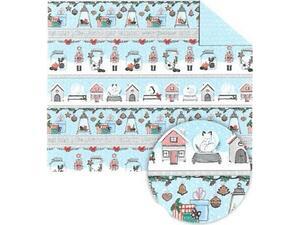 Χαρτί Ursus 50x68cm 300gr Winter Christmas No 2