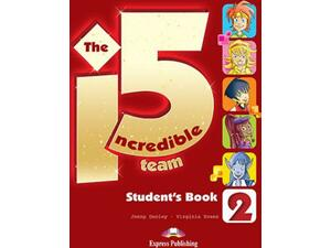 Incredible 5 team 2 student's with ieBook