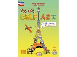 Vos clés Delf A2 - nouv.édition- livre de l'élève