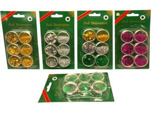Χρυσόσκονη αστεράκια σε κουτάκια (6 τεμαχίων)