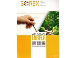 Ετικέτες αυτοκόλλητες SOREX 105x148mm