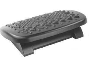 Υποπόδιο γραφείου - δαπέδου Footrest εργονομικό 47.5x34.5cm Μαύρο