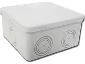 Κουτί στεγανό 100x100x50cm διακλάδωσης Nock- Out με πλαστική βίδα γκρι (32-21045-100)