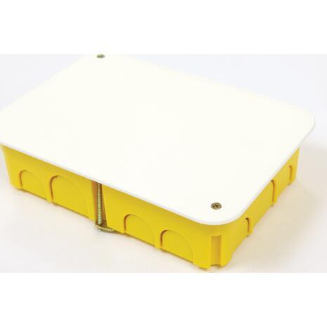 Κουτί διακλάδωσης 105x105x45cm γυψοσανίδας COURBI κίτρινο (08-21043-105)