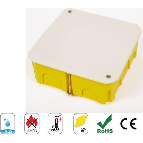 Κουτί διακλάδωσης 220x160x75cm γυψοσανίδας COURBI κίτρινο (08-21045-220)