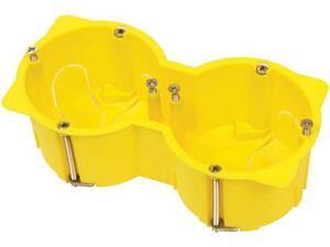 Κουτί διακόπτου γυψοσανίδας 65x213x4cm COURBI κίτρινο διπλό (08-21041-002)