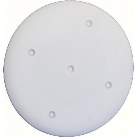 Καπάκι για κουτί διακόπτου γυψοσανίδας 65x45cm Φ65 COURBI λευκό (09-21015-001)