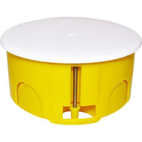 Κουτί διακλάδωσης 100x50cm Φ100 γυψοσανίδας COURBI ορθογώνιος κίτρινο (08-21047-100)