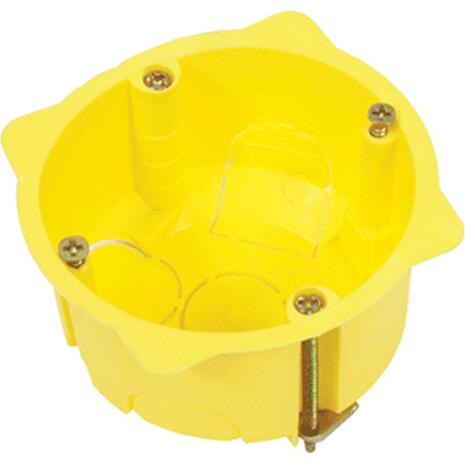 Κουτί διακόπτου γυψοσανίδας 65x45 COURBI μονό κίτρινο (08-21040-001)