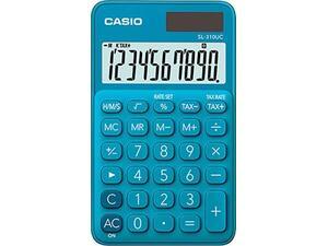 Αριθμομηχανή CASIO SL-310UC-BU Blue 10 ψηφίων