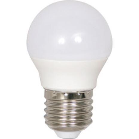 Λάμπα LED E27 5W θερμό λευκό φως δέσμης 2700Κ 220ο 470lm (35-004025)