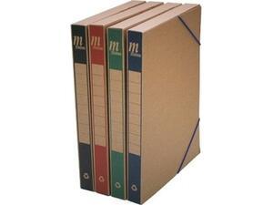 Κουτί αρχειοθέτησης οικολογικό με λάστιχο Metron 25x33x3cm σε διάφορα χρώματα