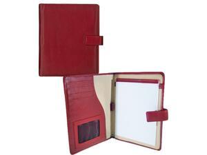 Organizer δερμάτινο 18x23cm κόκκινο