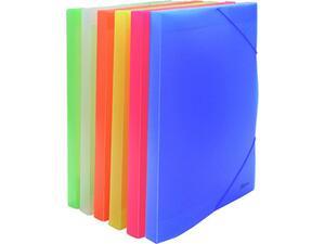 Κουτί αρχειοθέτησης με λάστιχο Metron Fun πλαστικό 25x35x3cm σε διάφορα χρώματα