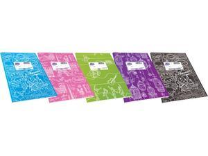 """Τετράδιο Skag """"SUPER ΔΙΕΘΝΕΣ"""" Ριγέ Σχέδια Fancy 50 Φύλλων 17x25  (Διάφορα σχέδια)"""