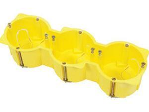 Κουτί διακόπτου γυψοσανίδας 65x205x45cm COURBI κίτρινο τριπλό (08-21042-003)
