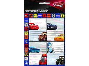 Σχολικές ετικέτες GIM Hot Stamping Cars (συσκευασία 8 ετικετών) (772-16649)