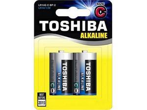 Αλκαλικές μπαταρίες TOSHIBA C (LR14) (συσκευασία 2 τεμαχίων)