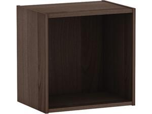 Ντουλάπι Decon Cube 40x29x40cm καρυδί [E-00016896(E828,5)]
