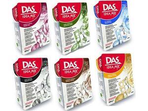 Πηλός DAS Idea mix 100gr σε διάφορα χρώματα