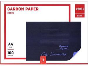 Καρμπόν Deli χάρτινο μπλε A4 (1 τεμάχιο)