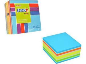 Αυτοκόλλητα χαρτάκια σημειώσεων STICK'N 76x76cm μπλε 400 φύλλα