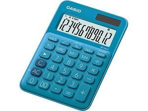 Αριθμομηχανή CASIO MS - 20UC-BU 12 ψηφίων 10.3x14.5cm μπλε