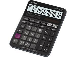 Αριθμομηχανή CASIO DJ-120D Plus 12 ψηφίων 14.4 x 19.2 cm μαύρο