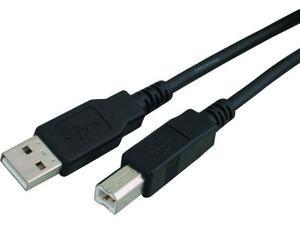 Καλώδιο USB Powertech 2.00 σε USB Type Β black copper (CAB-U050)