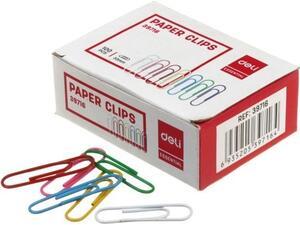 Συνδετήρες Χρωματιστοί 33mm συσκευασία 100 τεμαχίων